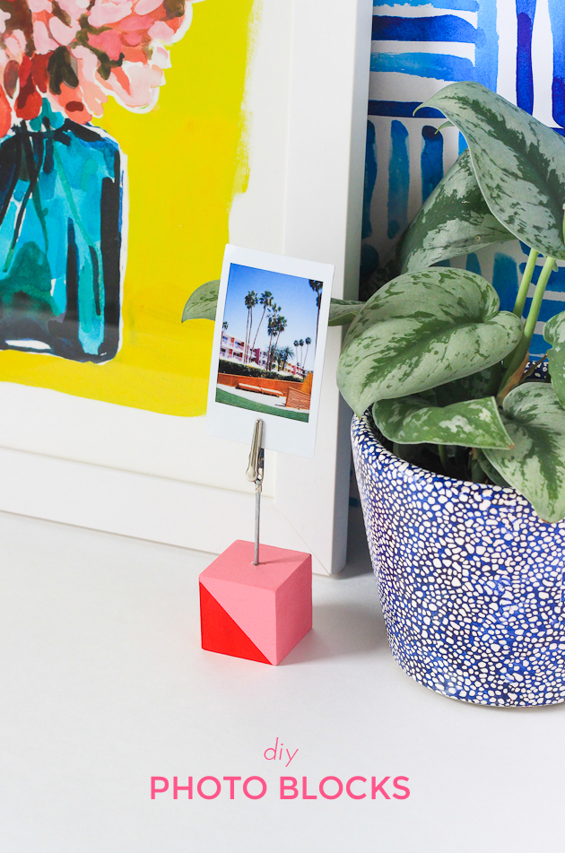 How to make photo blocks-- with video tutorial!