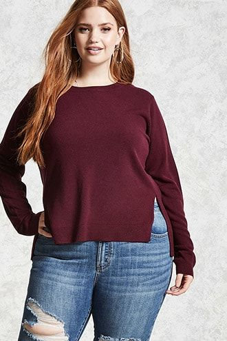 Plus Size Sweaters Cardigans Forever21 Outfits Pinterest