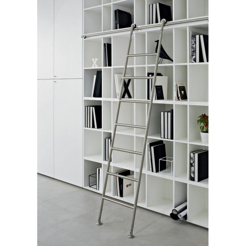 echelle de biblioth que en inox chelles combles. Black Bedroom Furniture Sets. Home Design Ideas
