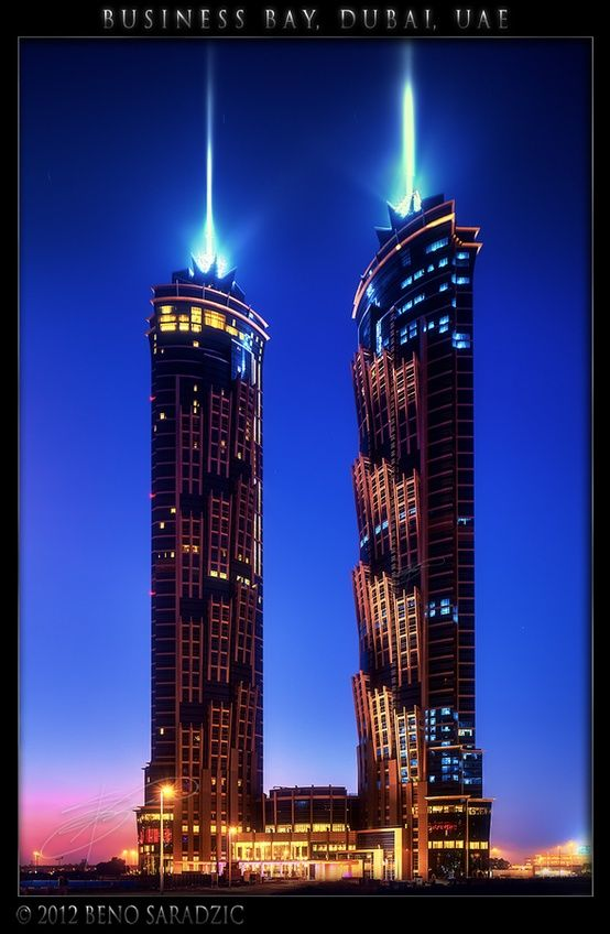 Emirates Park Towers Dubai By Beno Saradzic With Images