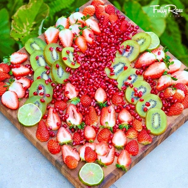 her- RAW for fruits!