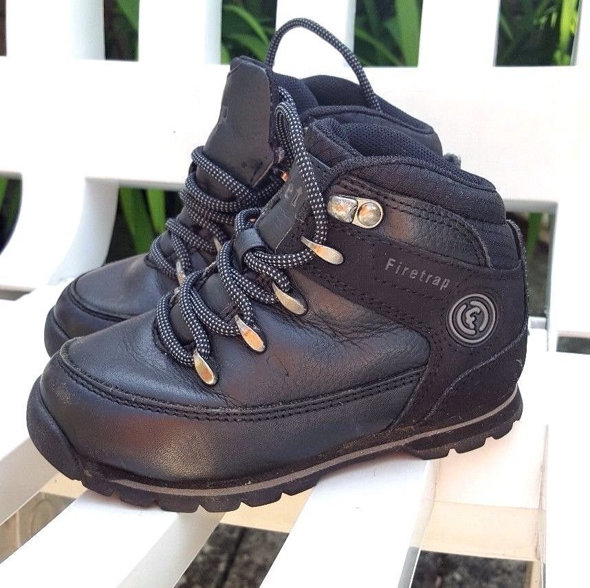 f7ca05cdbbd Firetrap Rhino Leather Casual Walking Hiking Outdoor Lace Up Boots ...