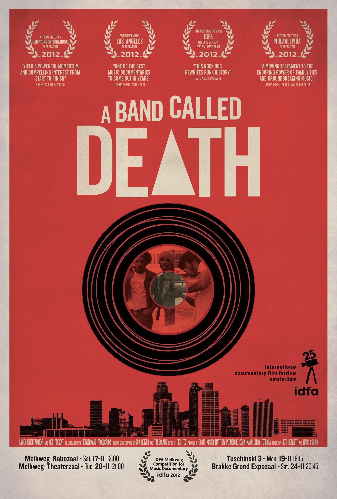 A Band Called Death Documentary Film Poster