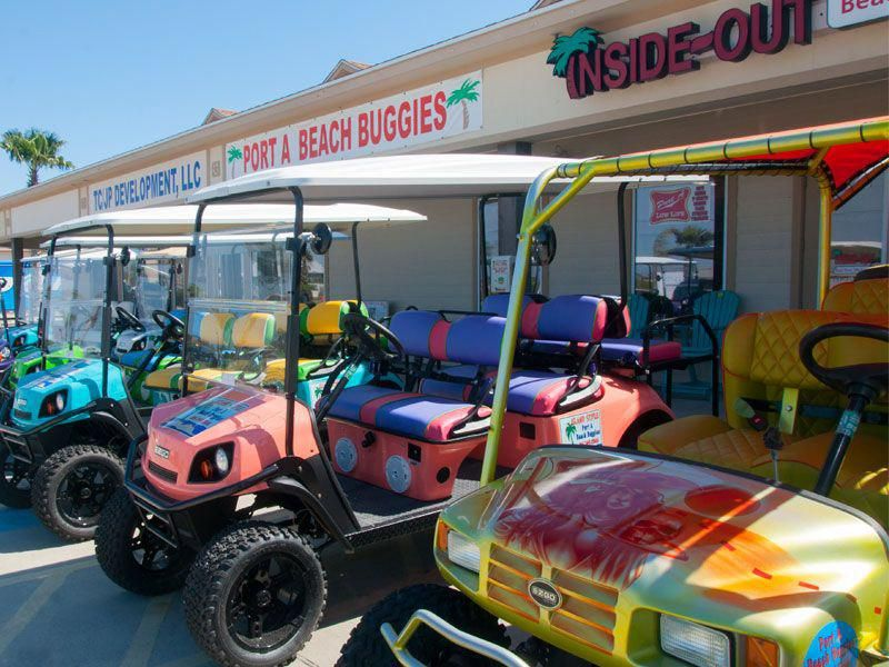 Excellent golf cart detail is available on our website