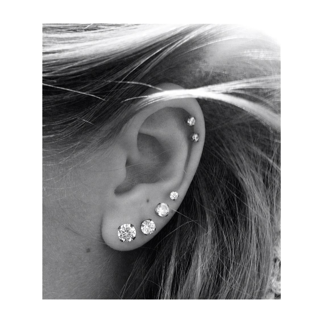 Quadruple Lobe Double Cartilage! I Want This!