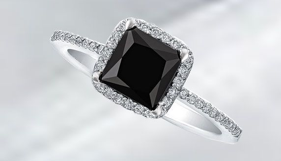 Black Diamond Engagement Rings For Women Take Your Love A Step Further Black Diamond Ring Engagement Black Diamond Ring Black Diamond Engagement Ring Halo