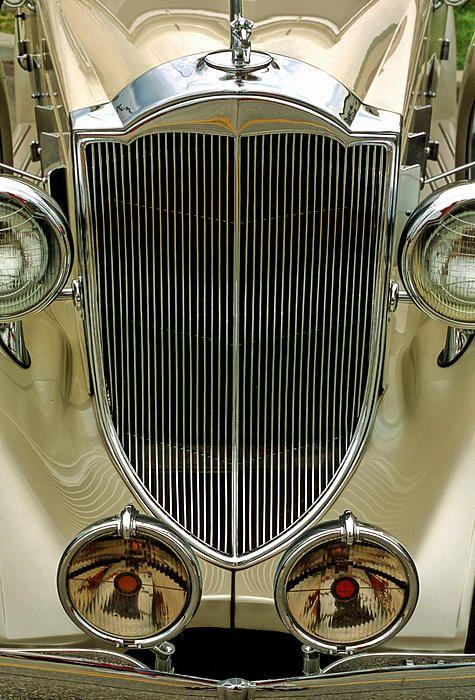 Classic Antique Packard Automobile, 1930's era Prints purchased via Fine Art America