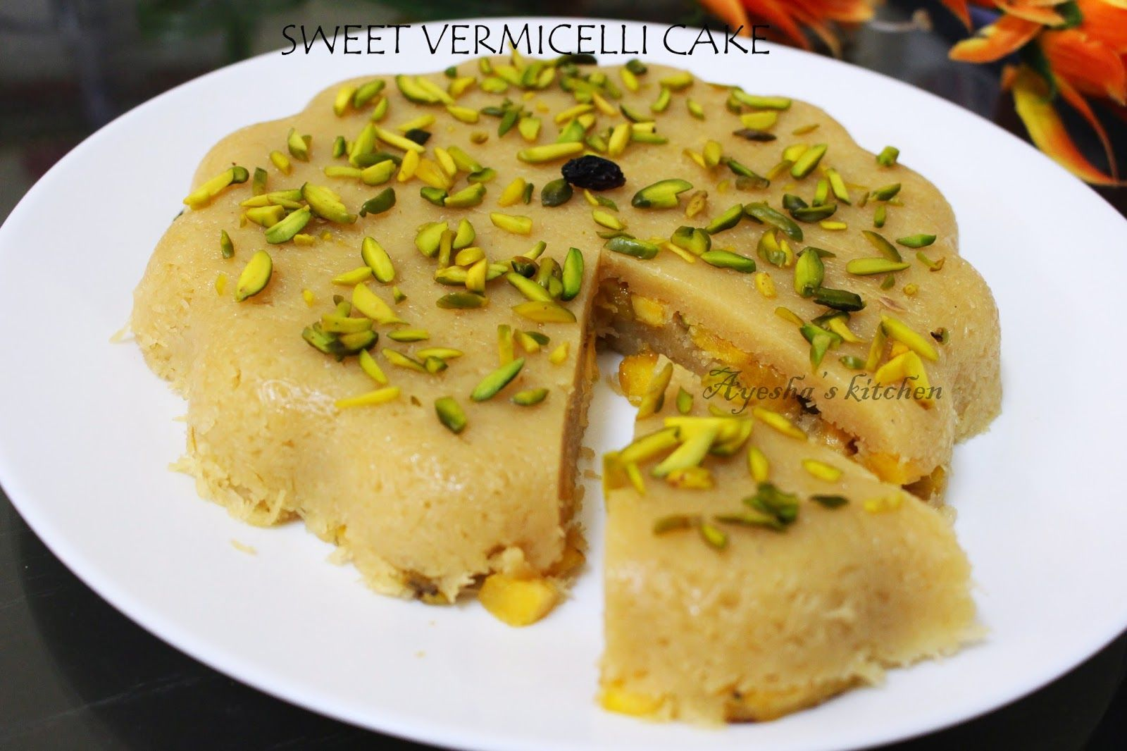 Ayeshas kitchen easy dessert recipes vermicelli banana cake here is a great easy dessert recipe for you with vermicelli semiya it can be prepared in 15 minutes and can be served once cooled forumfinder Images