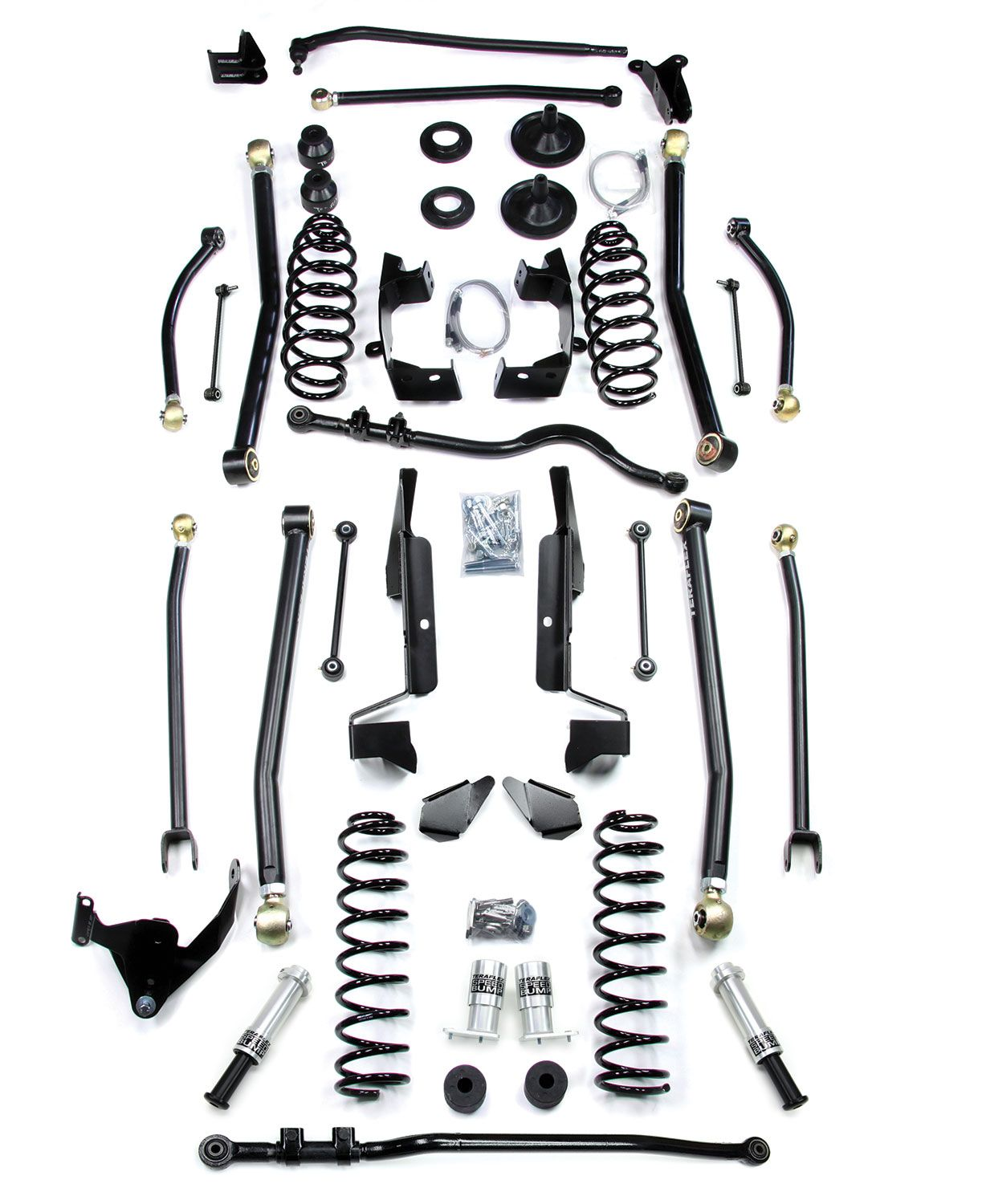 Teraflex Jk 4 Door 6 Elite Lcg Long Flexarm Lift Kit W