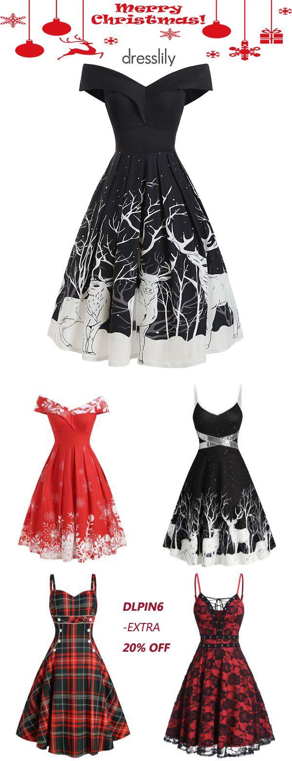 Women's Christmas Clothes | Christmas Dresses