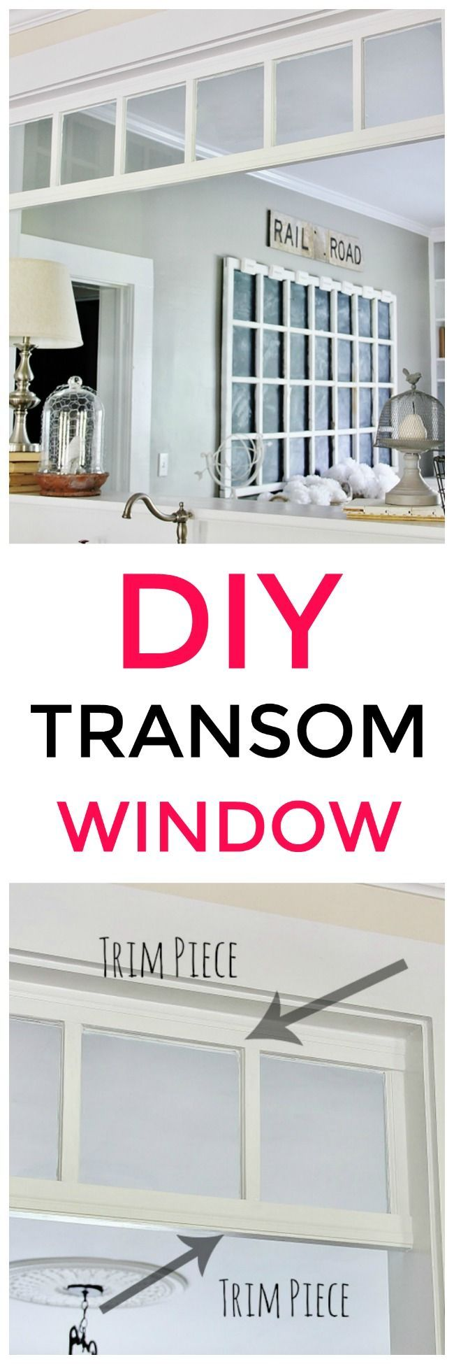 Photo of How to Make a DIY Transom Window | Thistlewood Farms