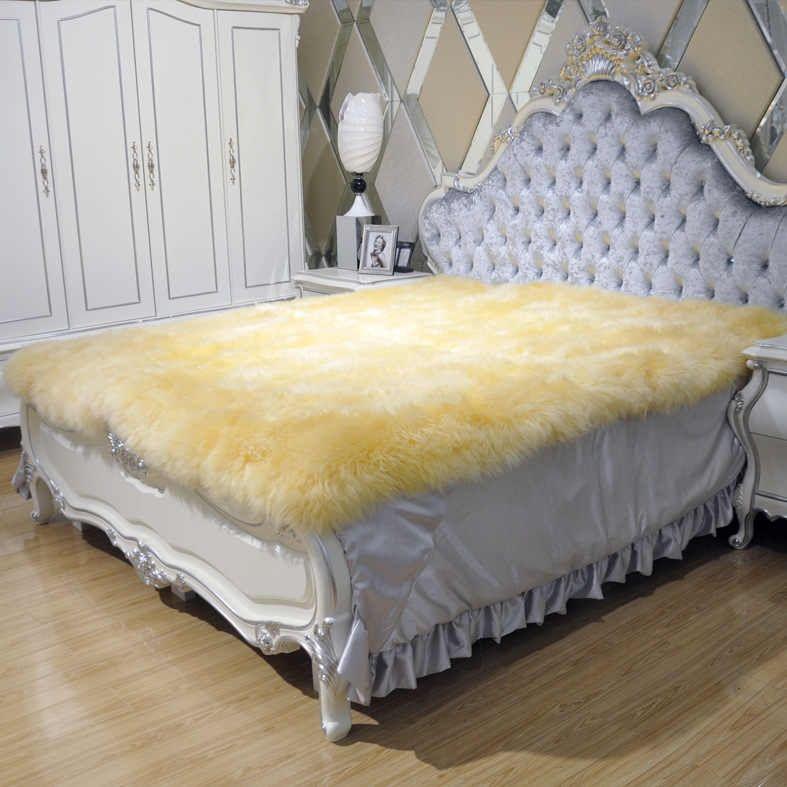 Sheepskin Mattress Topper Crib Mattress Topper Thick Mattress Topper Fur Blanket Bed