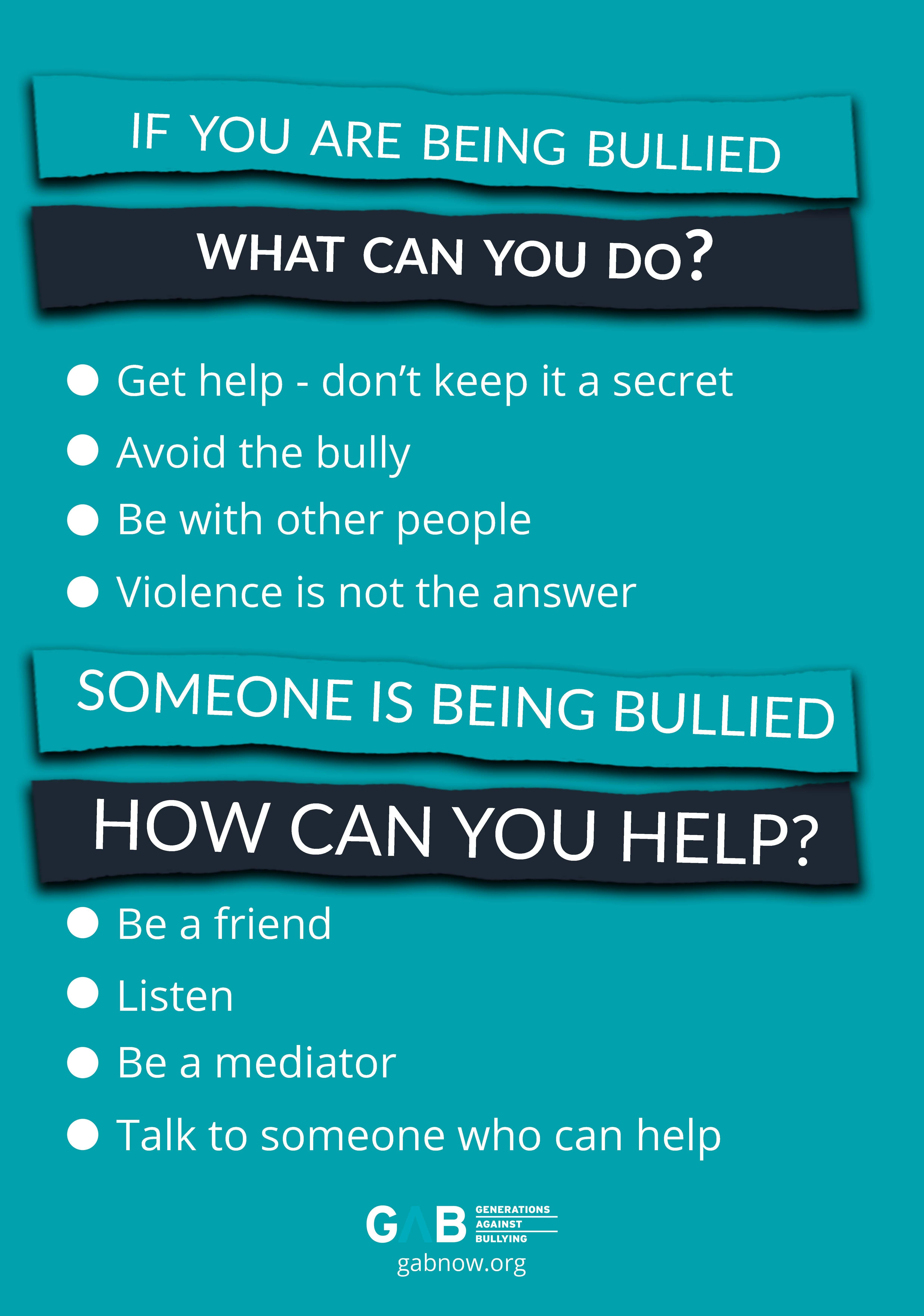 Help Join The Fight Against Bullying Beanupstander
