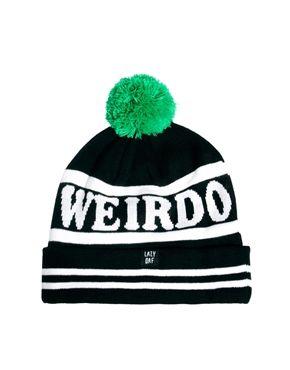 323db1fd9f363 Image 2 of Lazy Oaf Weirdo Bobble Hat
