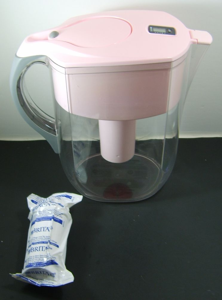 BRITA PITCHER WATER FILTRATION SYSTEM, PINK CITY OF HOPE BREAST CANCER MODEL