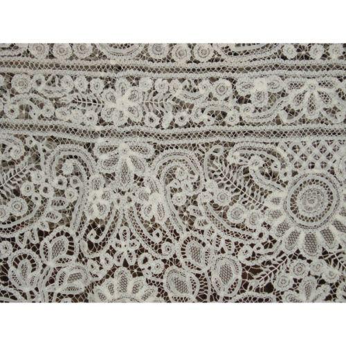 Bruges lace tablecloth (Renaissance). About 1900.   eBay