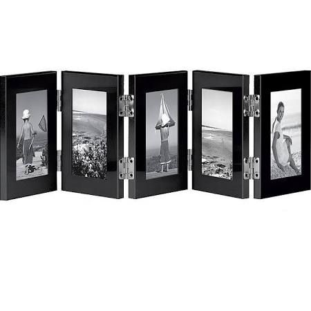 5-Opening Hinged Folding Frame by Carr in Ebony Black | My wish list ...