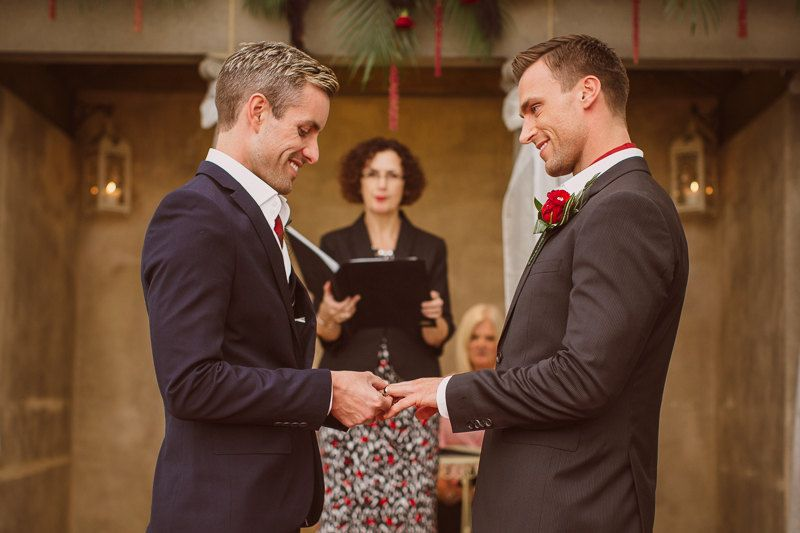 Ceremony gay wedding