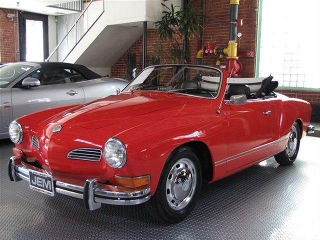 Third Car: 1972 Volkswagen Karmann Ghia Convertible