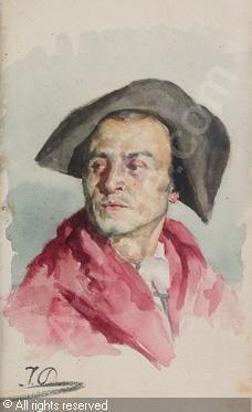 Autor JOSE DENIS BELGRANO pintor español n.en Málaga 1844+1917