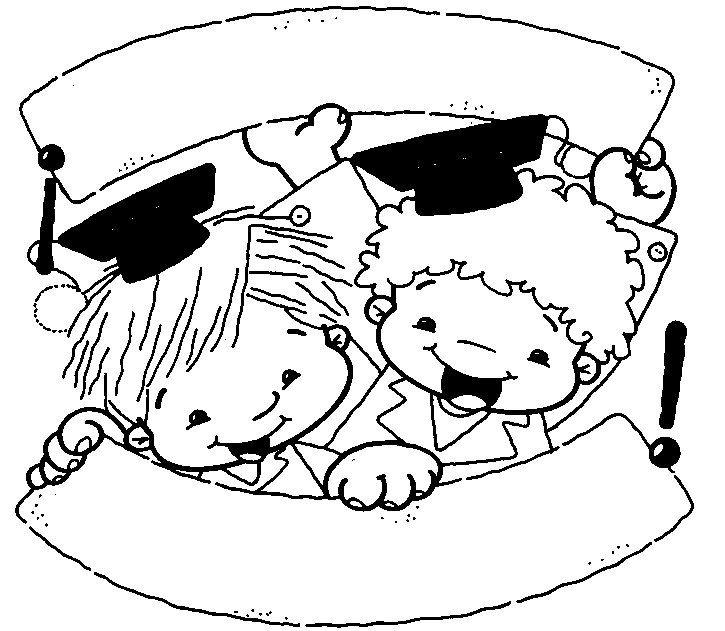 Muñecos para colorear graduación preescolar - Imagui | ΣΧΟΛΕΙΟ ...