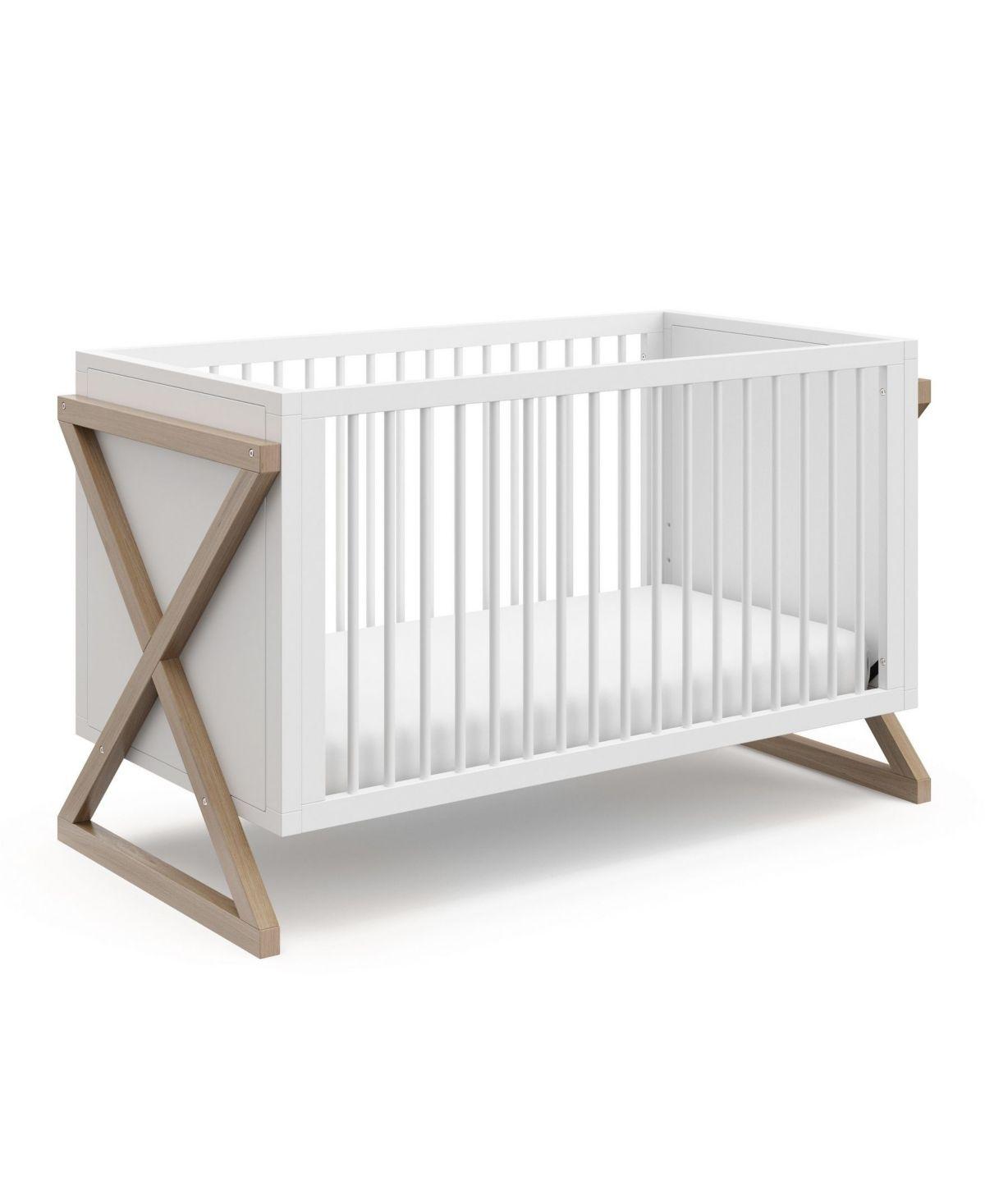 Storkcraft Equinox 3 In 1 Convertible Crib Dark Beige Cribs