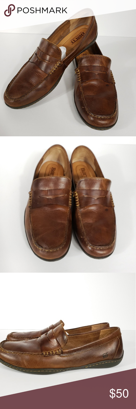 871833af56f Born Men s Simon Leather loafers Size 13 Born Men s Simon Leather Loafers  Color is Cymbal