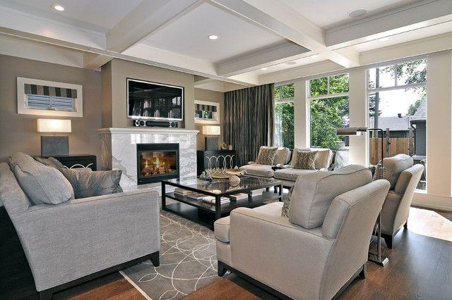 Große Wohnungen geschickt einrichten – Tipps und Tricks | Wohnzimmer ...