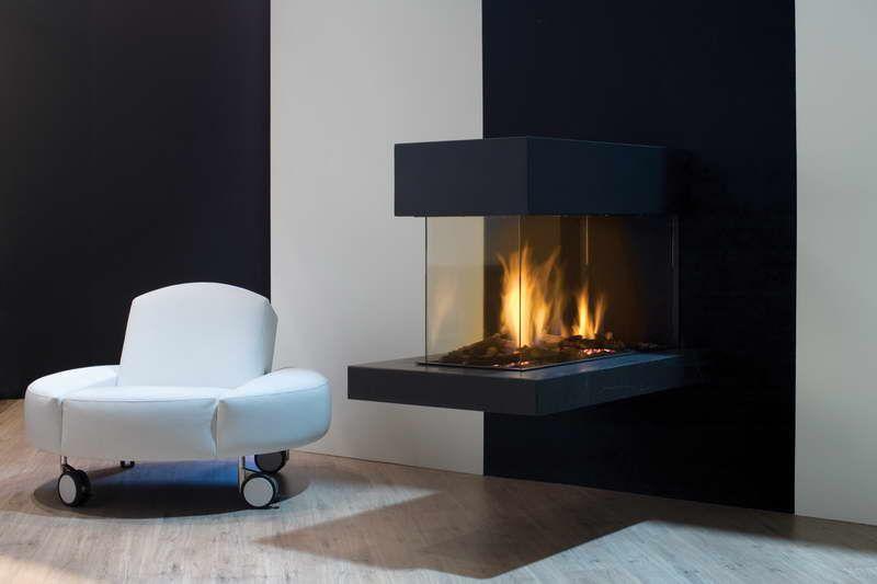 Futuristic Design For Contemporary Gas Fireplaces Ventless