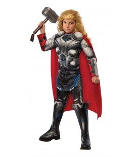 costume thor avengers deluxe 5-7 anni