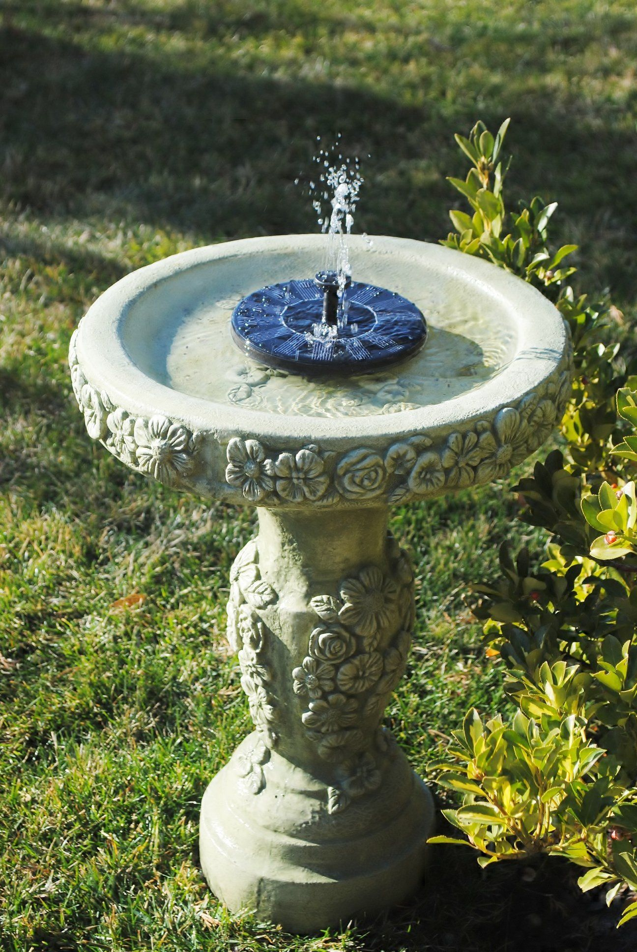 Amazon Com Solarrific G3033 Floating Solar Fountain For
