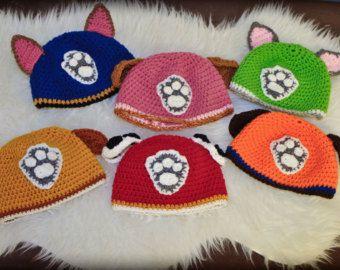Zuma Paw Patrol Crochet Hat Pattern  81351a38054