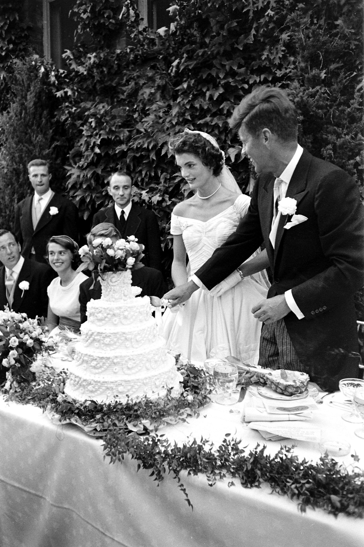 John F. Kennedy and Jacqueline Bouvier Kennedy