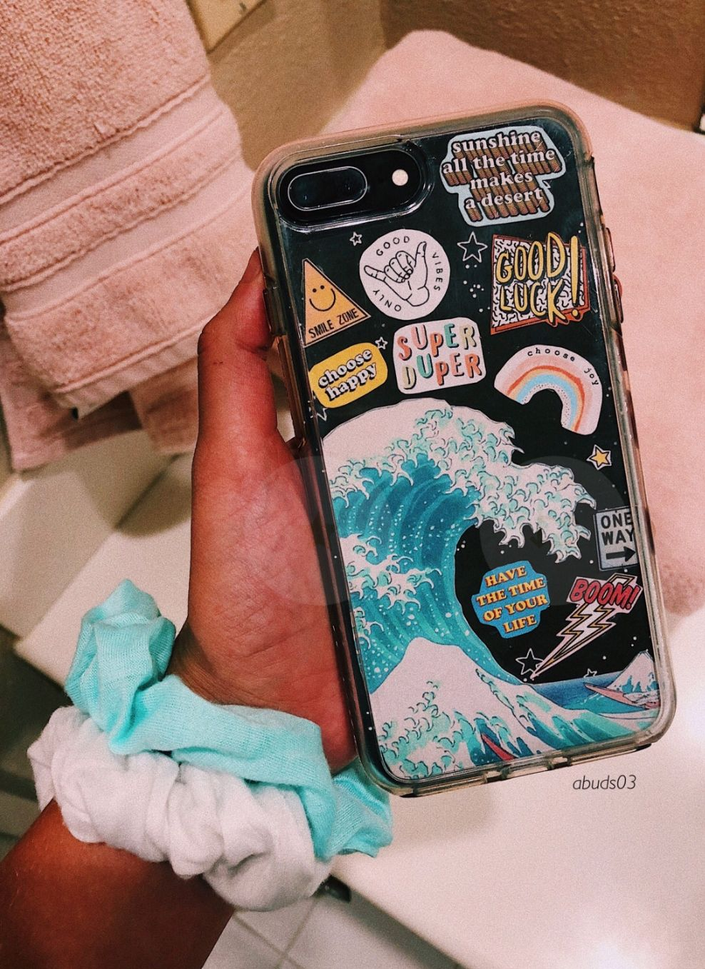 check out cbd3e 2cfa3 follow me @bhavyaanoop - phone case #water #stickers #clearcase ...