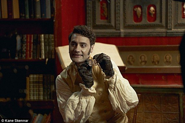 Taika Waititi As Viago The Vampire In What We Do In The Shadows Taika Waititi Funny People Shadow