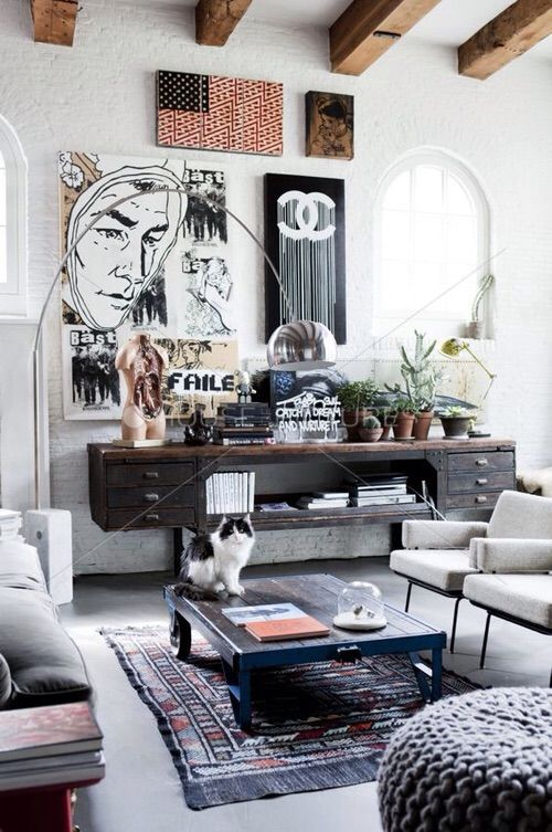 Industrial Decor Style Is Perfect For Any Interior An Living Room Always A Good Idea