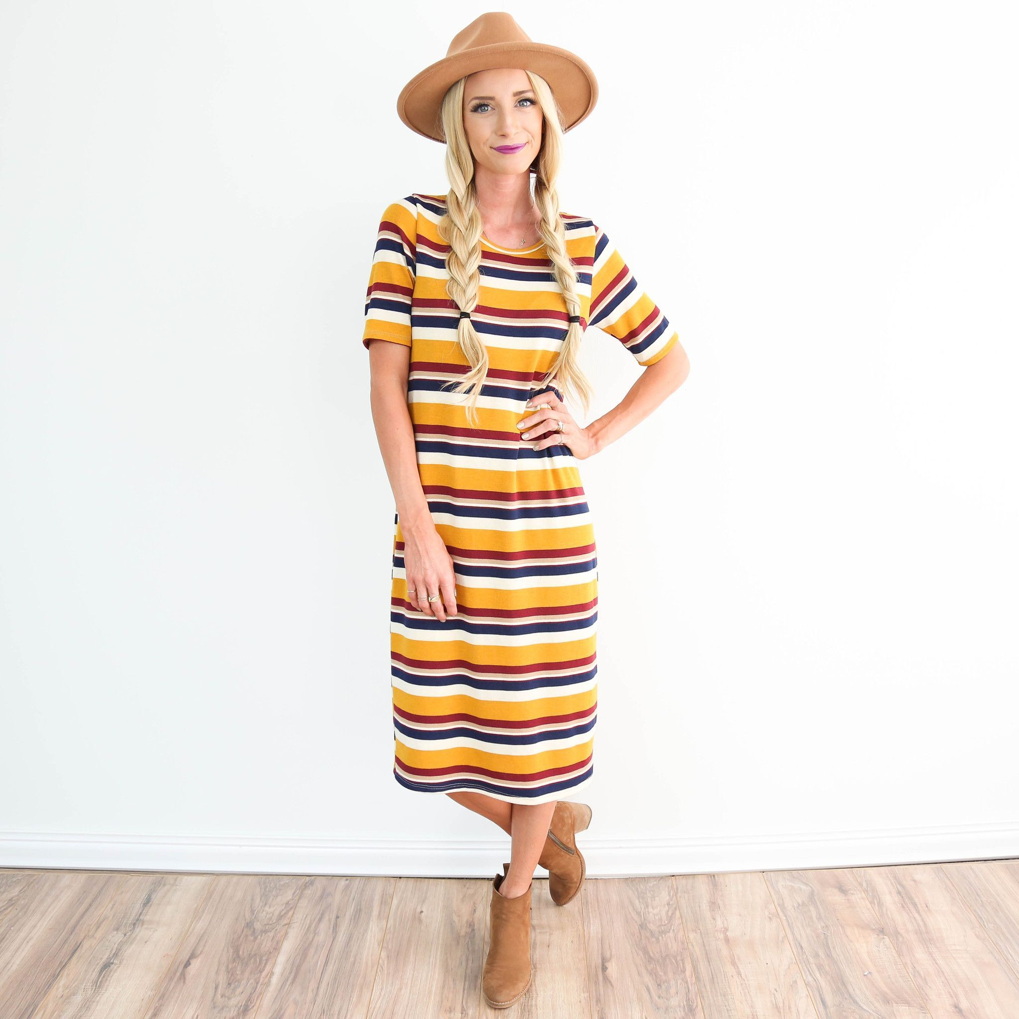 1388ac110f4 Rhythm Stripe Dress
