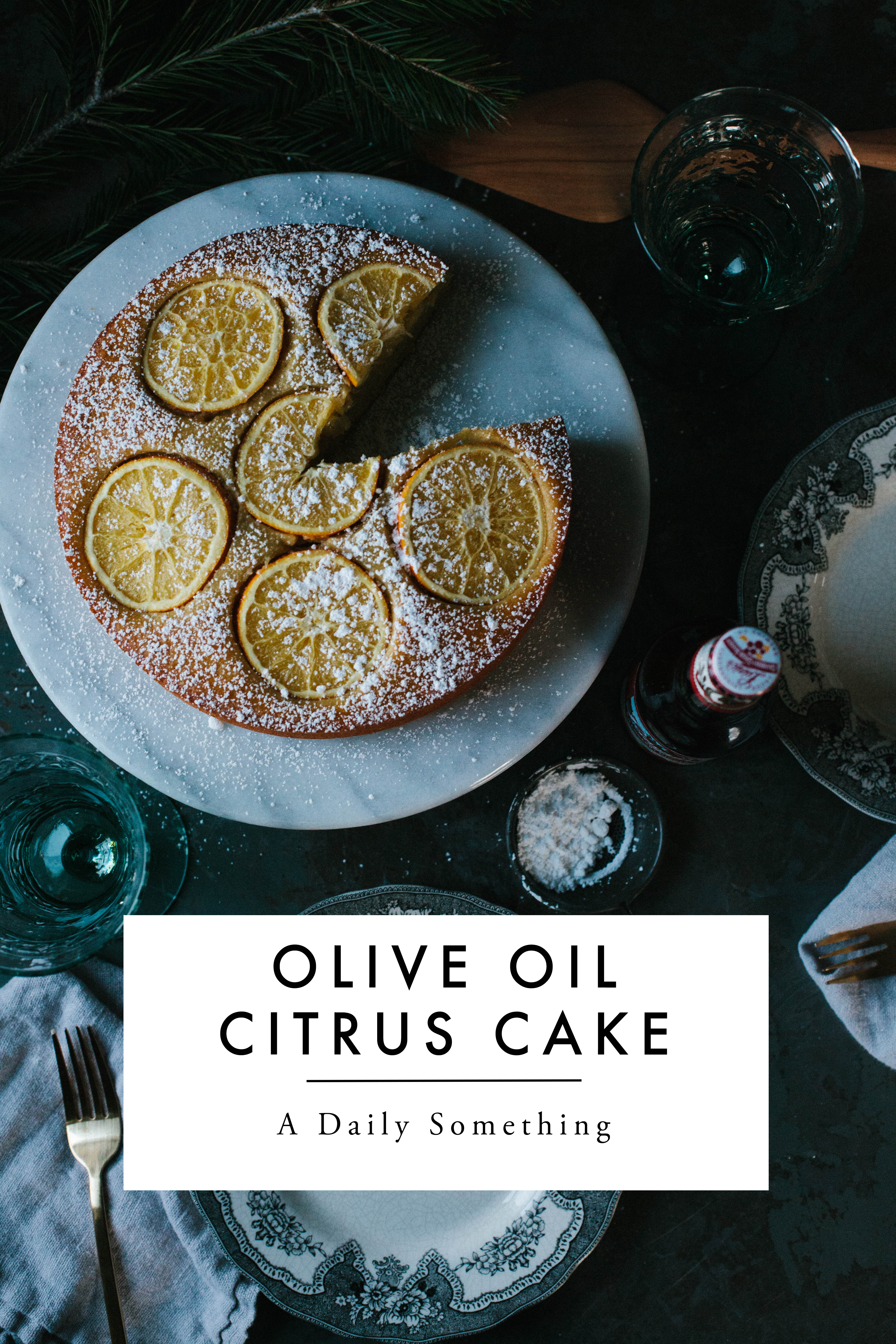 Olive Oil Citrus Cake and the Perfect Beer Pairing - A Daily Something