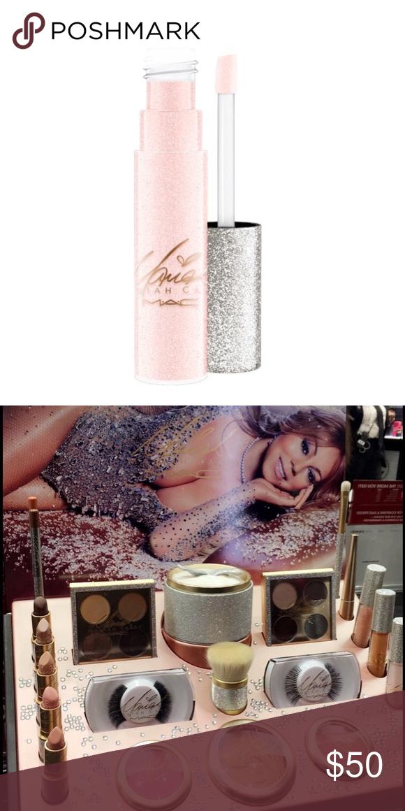 MAC Mariah Carey Lipglass limited edition NWT Mariah