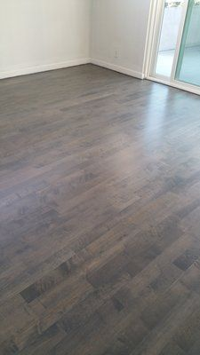 Sand Tint Stain Grey Wash And Refinish Maple Da Flooring
