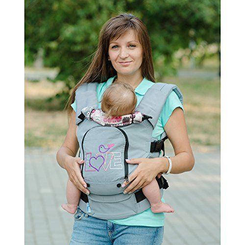 Designer Cotton Buckle Baby Carrier Paris Toddler Carrier Ergo