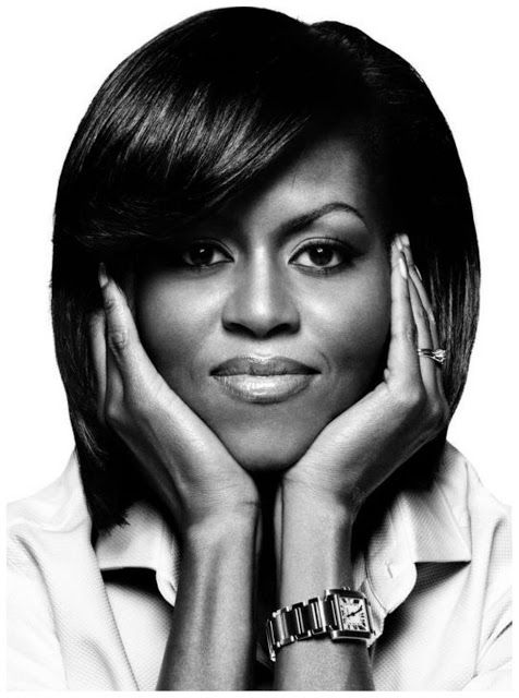 Michelle Obama. Via: a.Lu HMS|Handmade Studio