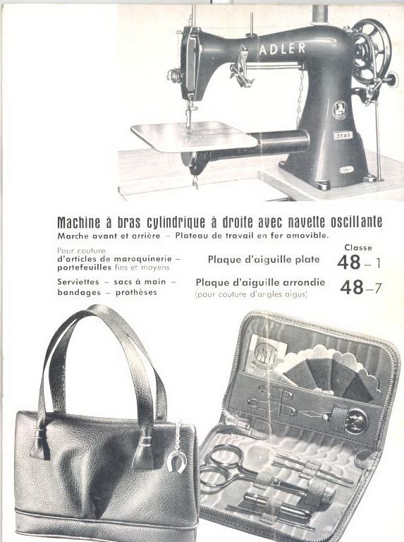 Adler 48, #leather #sewingmachine #sewing #machine