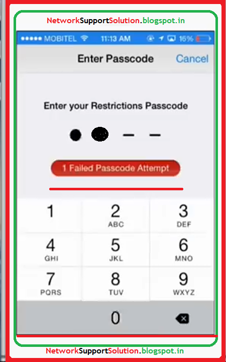 Reset General Restrictions Passcode For Iphone Ipod Touch Ipad Without Data Loss Iphone Data Loss Unlock Iphone