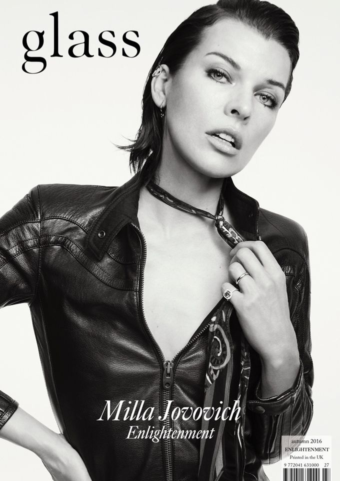 Милла Йовович для Glass Magazine (Интернет-журнал ETODAY)   Milla ... dffba9dc3b9