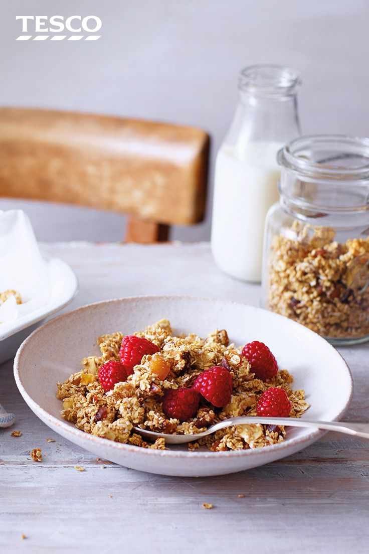 Crunchy oats recipe porridge oats tesco real food