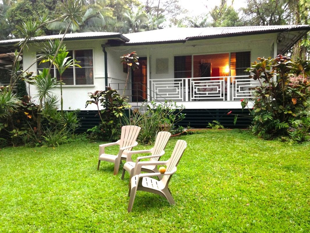 The Jungle Farmhouse vacation rental is located in the heart of the Puna  District on the east side of Hawai'i Island and just … | Pahoa, Farm stay,  Dream vacations