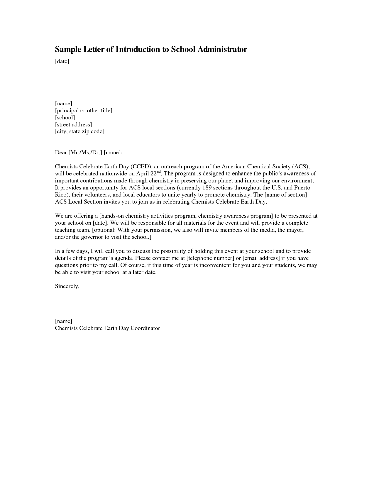 Elegant Cover Letter For School Receptionist