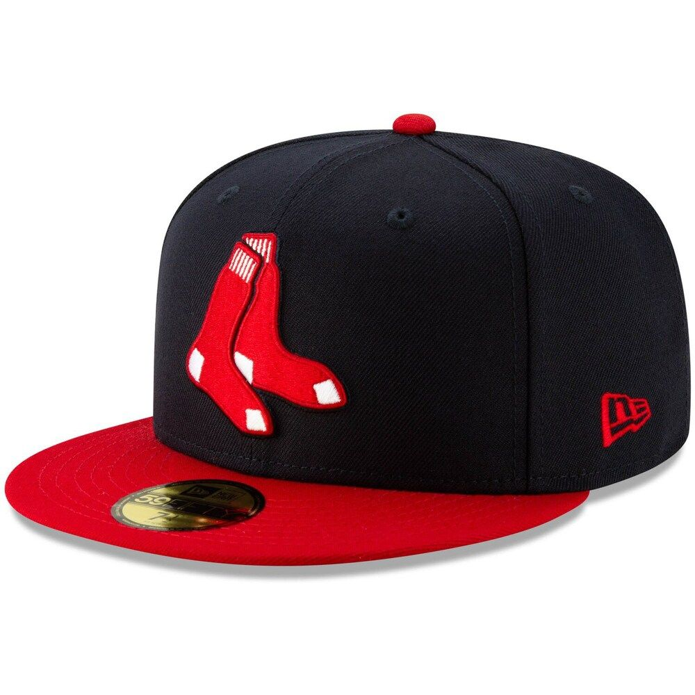 Men S New Era Navy Boston Red Sox Alternate Logo 59fifty Fitted