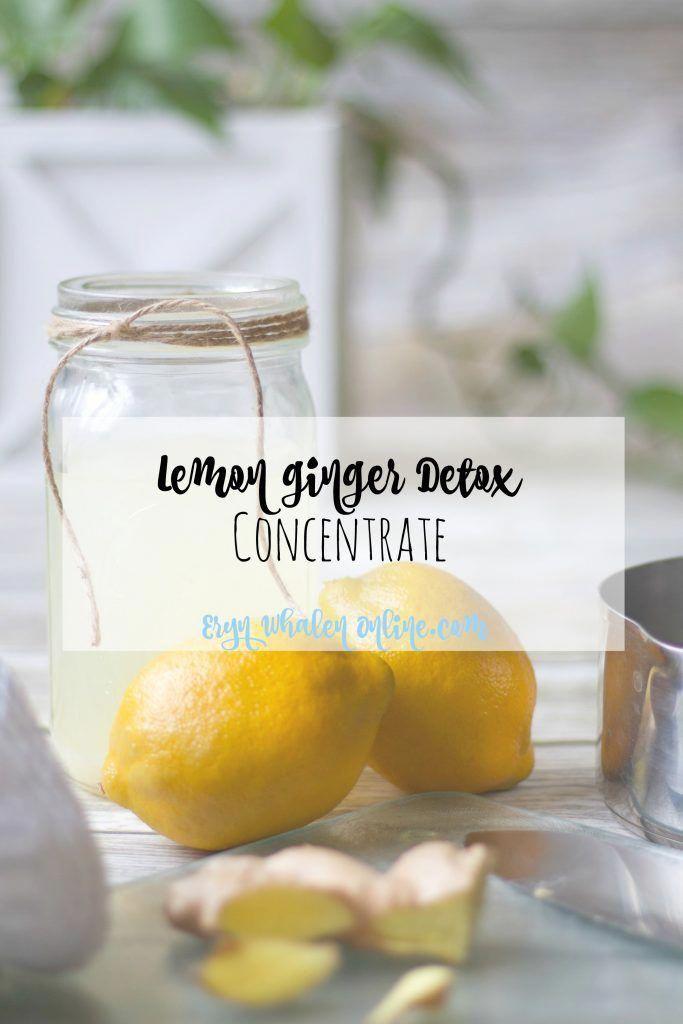 food cleanse detox in 2020 | Ginger detox, Lemon and ginger detox, Detox diet drinks